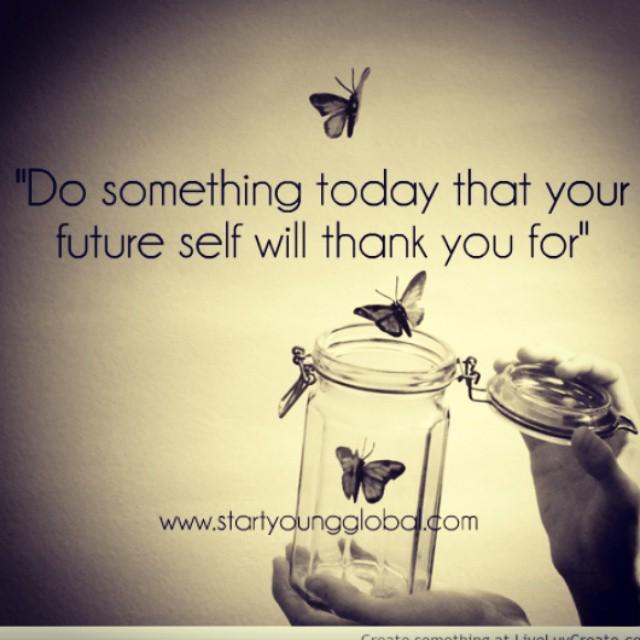 Day 35: Working on myself for myself by myself